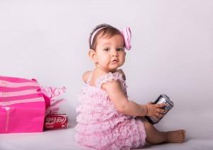 дантелен гащеризон за бебе в розово