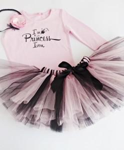 комплект за рожден ден в розово и черно