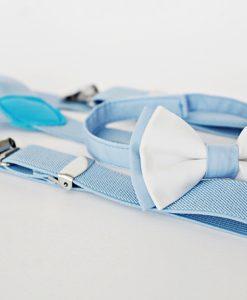 папионка синьо и бяло