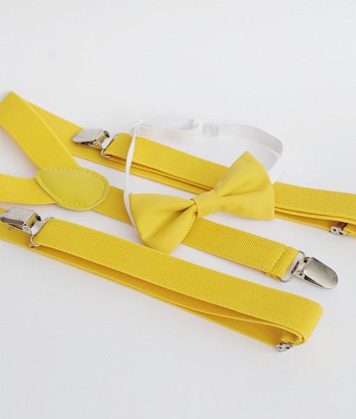 жълти тиранти