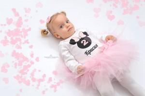 комплект за рожден ден мини маус в розово
