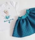 Комплект пола и блуза Елза