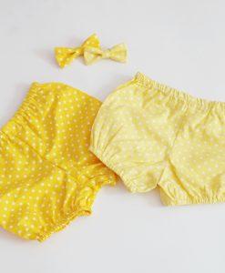 памперс гащи в жълто