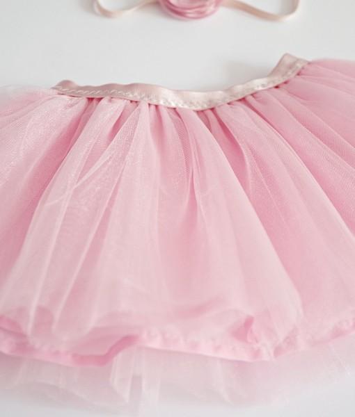 детска пола в розово