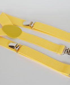 детски жълти тиранти