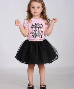 Комплект за рожден ден в черно и розово