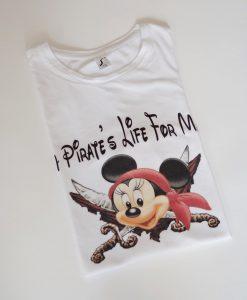 Блуза с Мини Маус пират