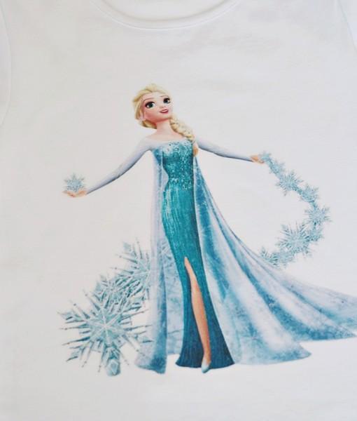 Детска блуза Замръзналото кралство