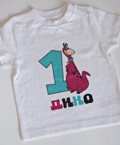 Детска блуза за рожден ден Дино