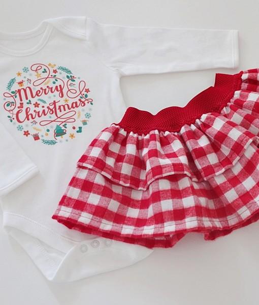 коледен комплект за момиче merry christmas
