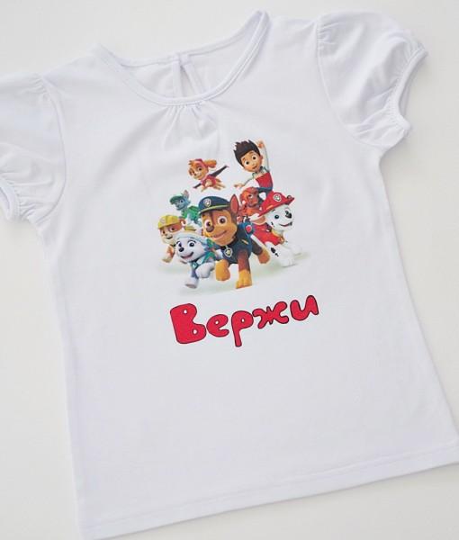 Детска тениска Пау Патрул