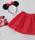 Комплект за рожден ден Мини Маус в червено и бяло
