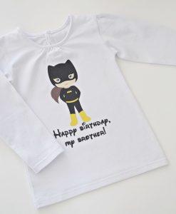 Тениска за момиче Батгърл