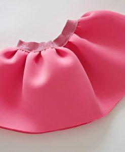 детска пола от неопрен в наситено розово