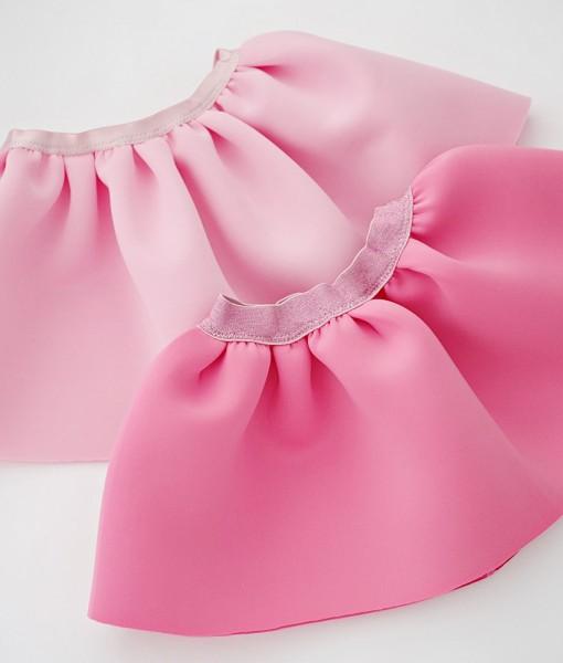 детски поли от неопрен в розово