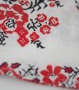 бебешка бяла рокля на цветя
