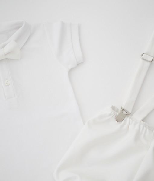 панталонки за кръщене с боди и тиранти