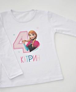 детска блуза за рожден ден с ана