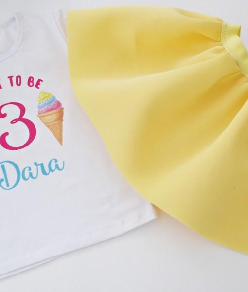 Комплект пола и блуза Сладолед