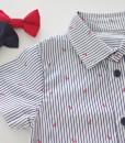 бебешка морска риза с папионка по избор