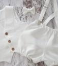 бебешки официални дрехи в бяло